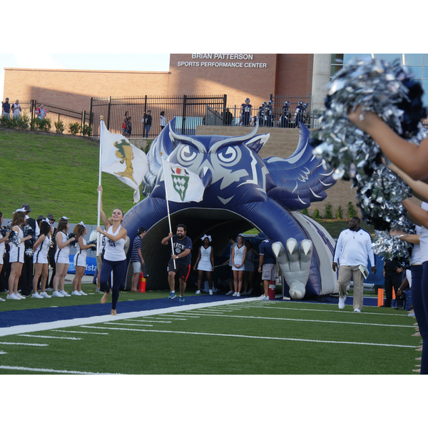 Photo of Official Rice Owl Inflatable Tunnel