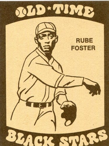 Photo of 1974 Laughlin Old Time Black Stars #35 Andrew (Rube) Foster-- Hall of Fame Class of 1981