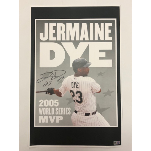 Photo of Jermaine Dye Autographed Poster