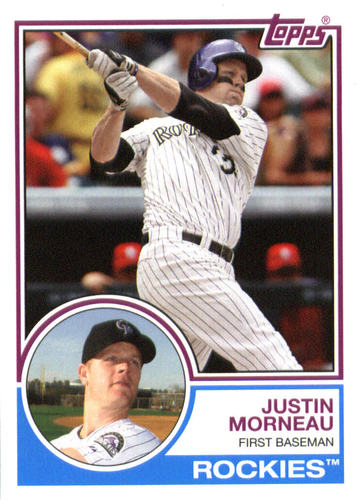 Photo of 2015 Topps Archives #287 Justin Morneau