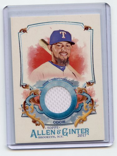 Photo of 2017 Topps Allen and Ginter Relics #FSRARO Rougned Odor A