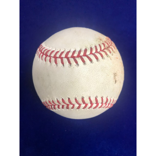 Photo of Game Used Baseball: Shohei Ohtani Single September 28th 2018