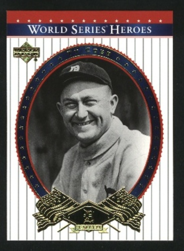 Photo of 2002 Upper Deck World Series Heroes #70 Ty Cobb