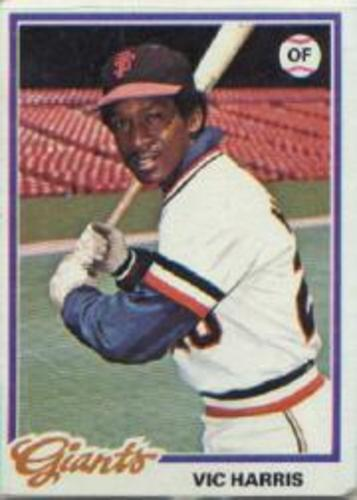 Photo of 1978 Topps #436 Vic Harris DP