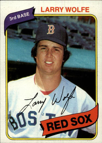 Photo of 1980 Topps #549 Larry Wolfe