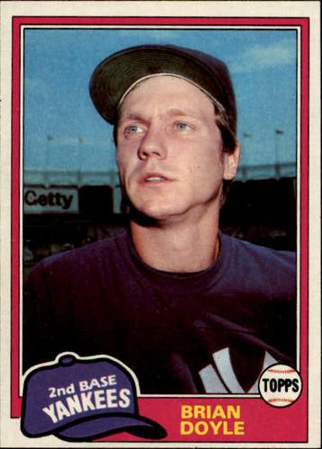 Photo of 1981 Topps #159 Brian Doyle
