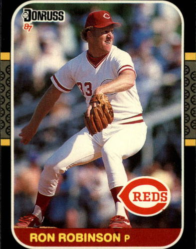 Photo of 1987 Donruss #310 Ron Robinson