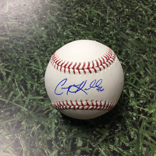 Photo of Corey Knebel Autographed Baseball