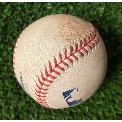 Photo of Chris Taylor Hit Single Ball off Max Fried - 10/16/21 NLCS Game 1 - Also pitched to Steven Souza Jr.