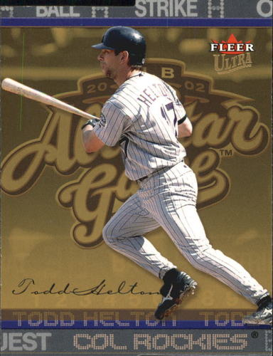 Photo of 2003 Ultra Gold Medallion #209 Todd Helton AS