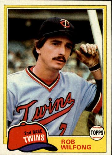 Photo of 1981 Topps #453 Rob Wilfong DP