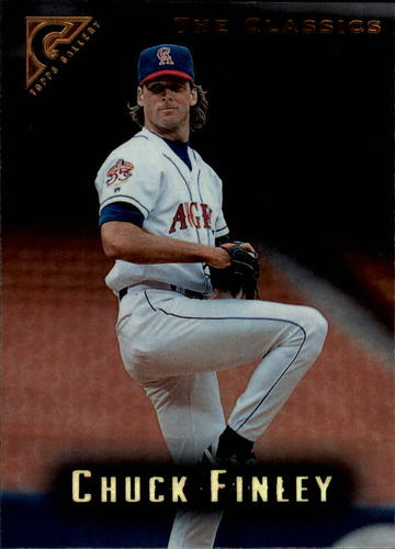 Photo of 1996 Topps Gallery #25 Chuck Finley