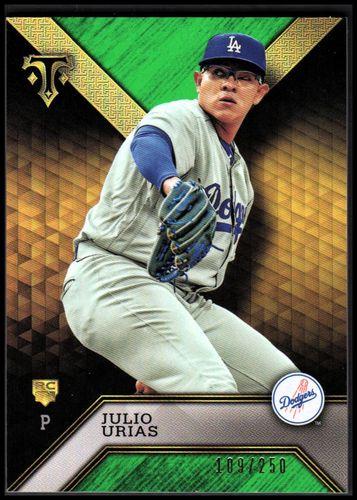 Photo of 2016 Topps Triple Threads Emerald #100 Julio Urias