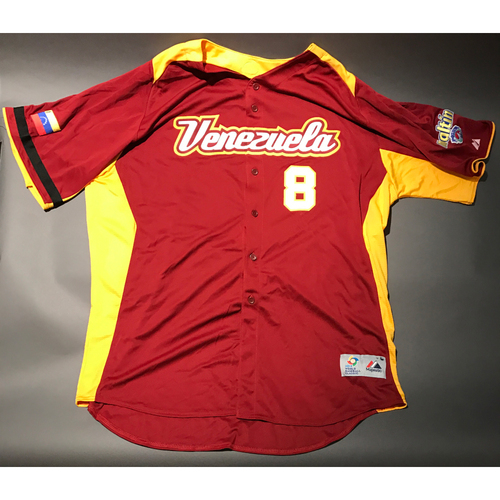 Photo of 2009 World Baseball Classic Jersey - Venezuela Jersey, Luis Sojo #8