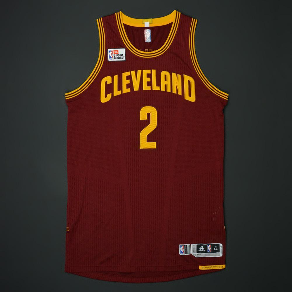 Kyrie Irving - Cleveland Cavaliers - 2017 JBL Three-Point Contest - Event-Worn Jersey