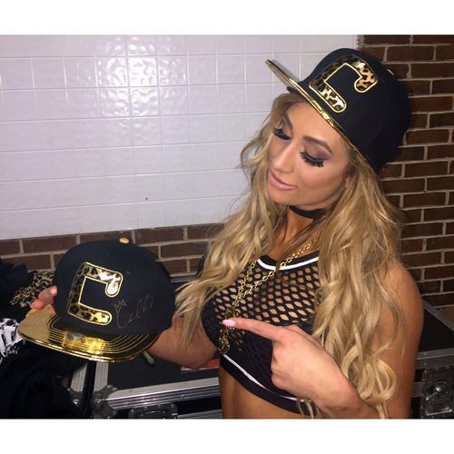 Carmella SIGNED Snapback Hat
