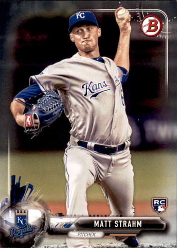 Photo of 2017 Bowman #64 Matt Strahm RC