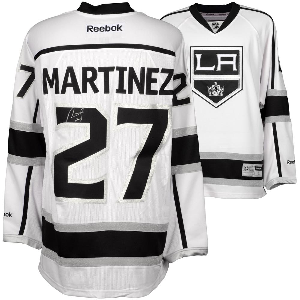Alec Martinez Los Angeles Kings Autographed White Reebok Premier Jersey
