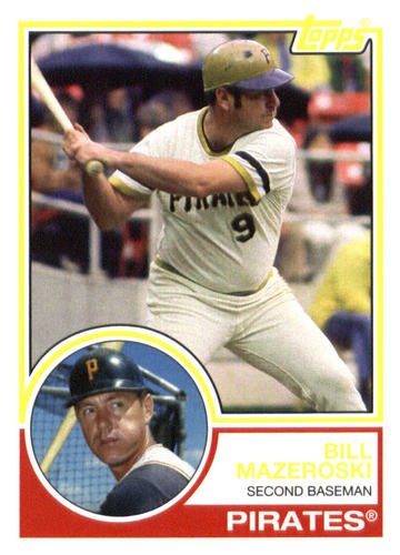 Photo of 2015 Topps Archives #289 Bill Mazeroski