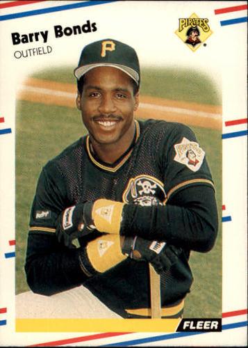 Photo of 1988 Fleer #322 Barry Bonds