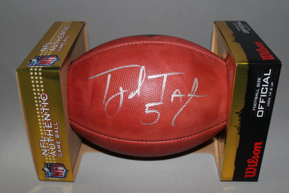 BILLS - TYROD TAYLOR SIGNED AUTHENTIC FOOTBALL