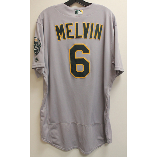Photo of Bob Melvin Game-Used Jersey