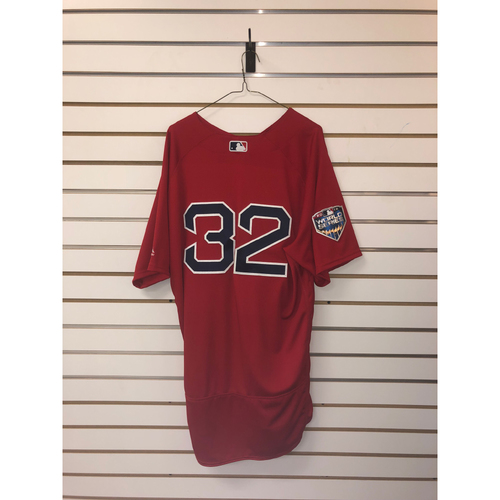 Matt Barnes Team-Issued 2018 World Series Home Alternate Jersey