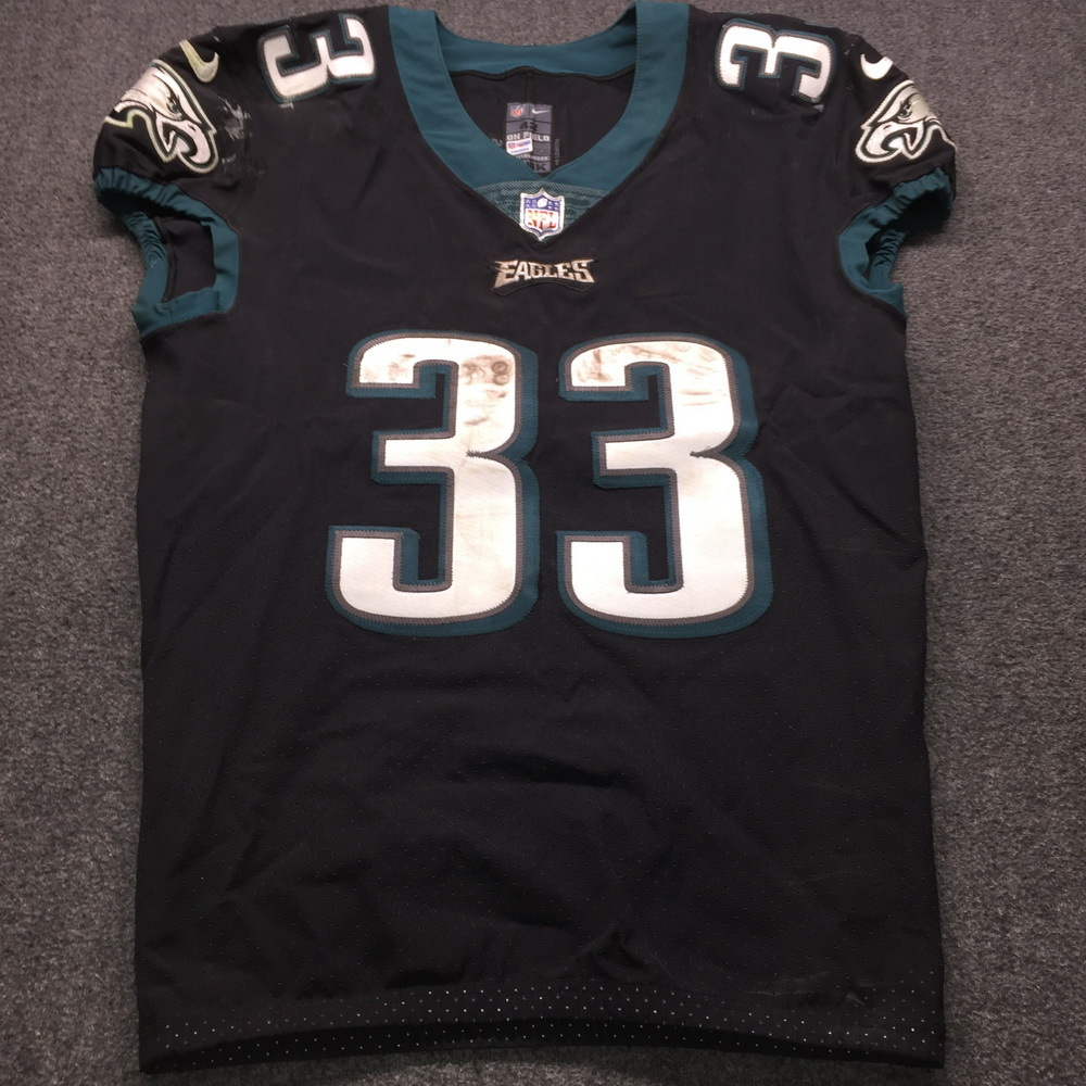 STS - Eagles Josh Adams Game Used Jersey (11/25/18) Size 42