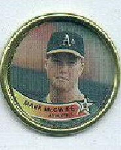 Photo of 1989 Topps Coins #45 Mark McGwire