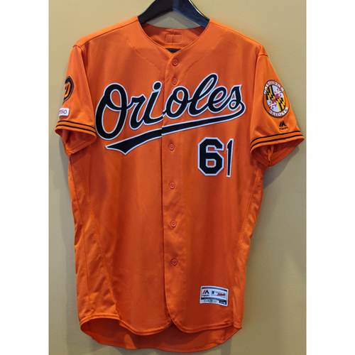 Photo of Austin Wynns - Orange Alternate Jersey: Game-Used