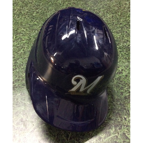 Photo of Yasmani Grandal 2019 Game-Used Batting Helmet