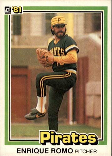Photo of 1981 Donruss #255 Enrique Romo