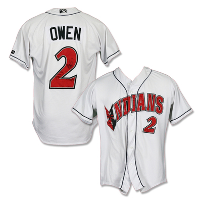 #2 Hunter Owen Autographed Game Worn Home White Jersey