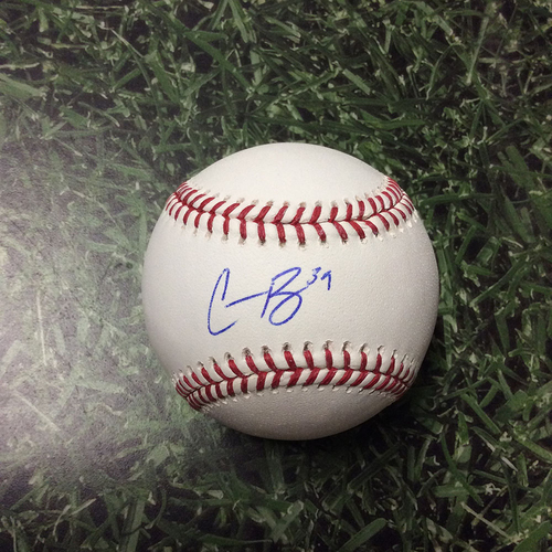 Photo of Corbin Burnes Autographed Baseball