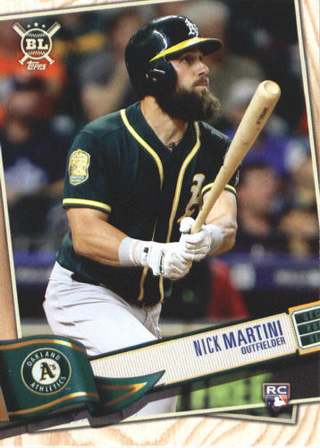 Photo of 2019 Topps Big League #281 Nick Martini RC