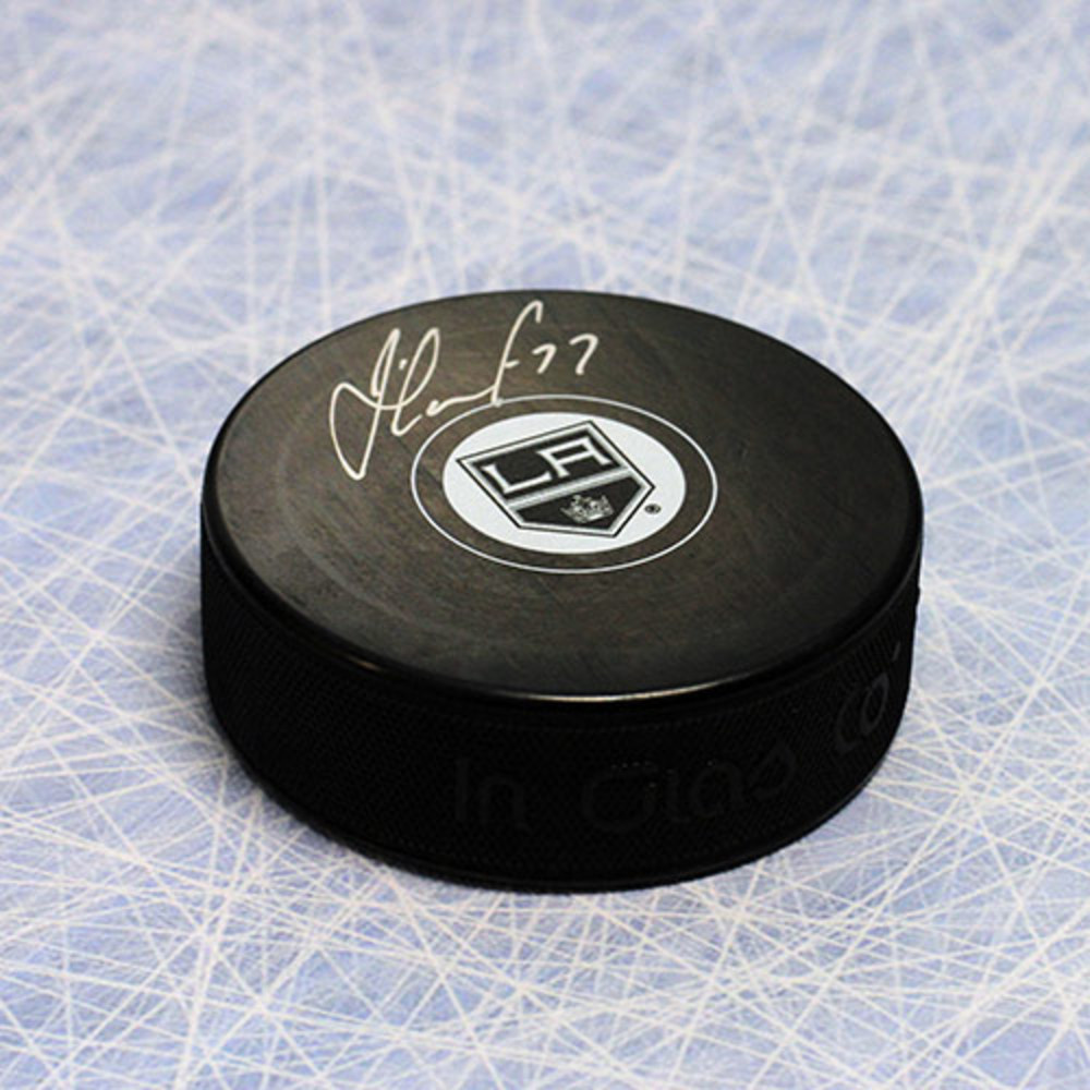 Jeff Carter Los Angeles Kings Autographed Hockey Puck