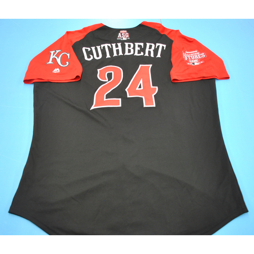 Photo of Batting Practice Jersey - 2015 All-Star Futures Game - Cheslor Cuthbert - Size 48 - Only Worn During Batting Practice