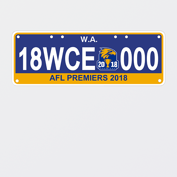 Shop Premiership License Plates