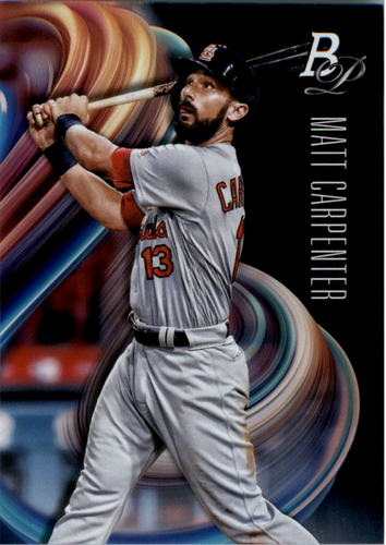 Photo of 2018 Bowman Platinum #24 Matt Carpenter