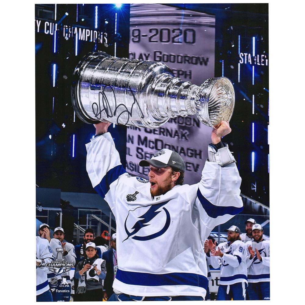 Andrei Vasilevskiy Tampa Bay Lightning 2020 Stanley Cup Champions Autographed 11