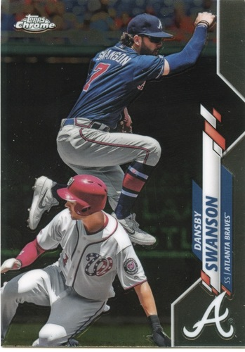 Photo of 2020 Topps Chrome #65 Dansby Swanson