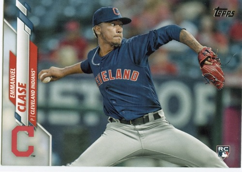 Photo of 2020 Topps #390 Emmanuel Clase RC