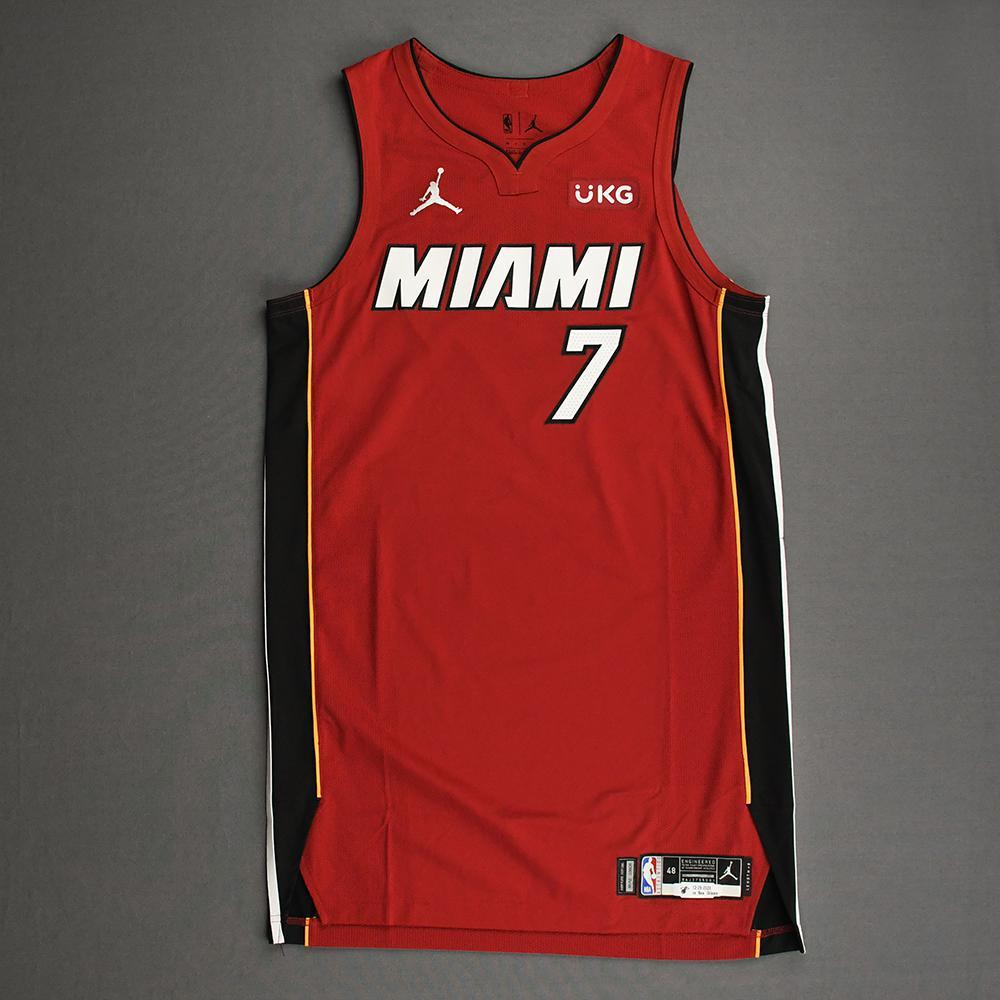 Goran Dragic - Miami Heat - Game-Worn - Statement Edition Jersey - Christmas Day 2020 - 1st Half