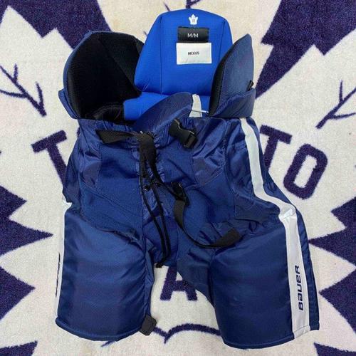 #18 Andreas Johnsson Worn Hockey Pants (Bauer Nexus M)