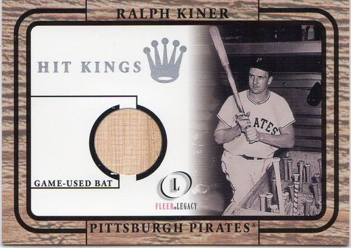 Photo of 2001 Fleer Legacy Hit Kings #18 Ralph Kiner