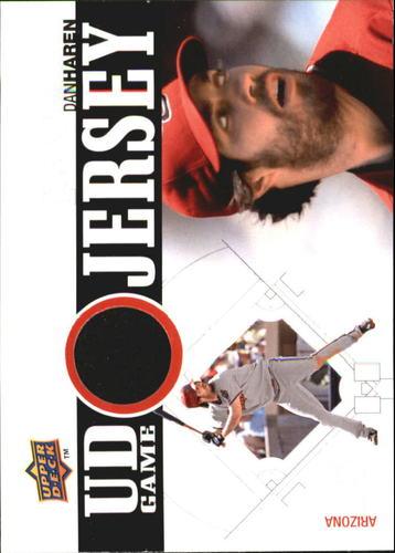 Photo of 2010 Upper Deck UD Game Jersey #DH Dan Haren