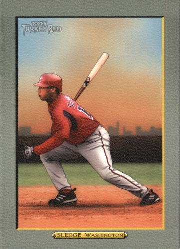 Photo of 2005 Topps Turkey Red #224 Terrmel Sledge
