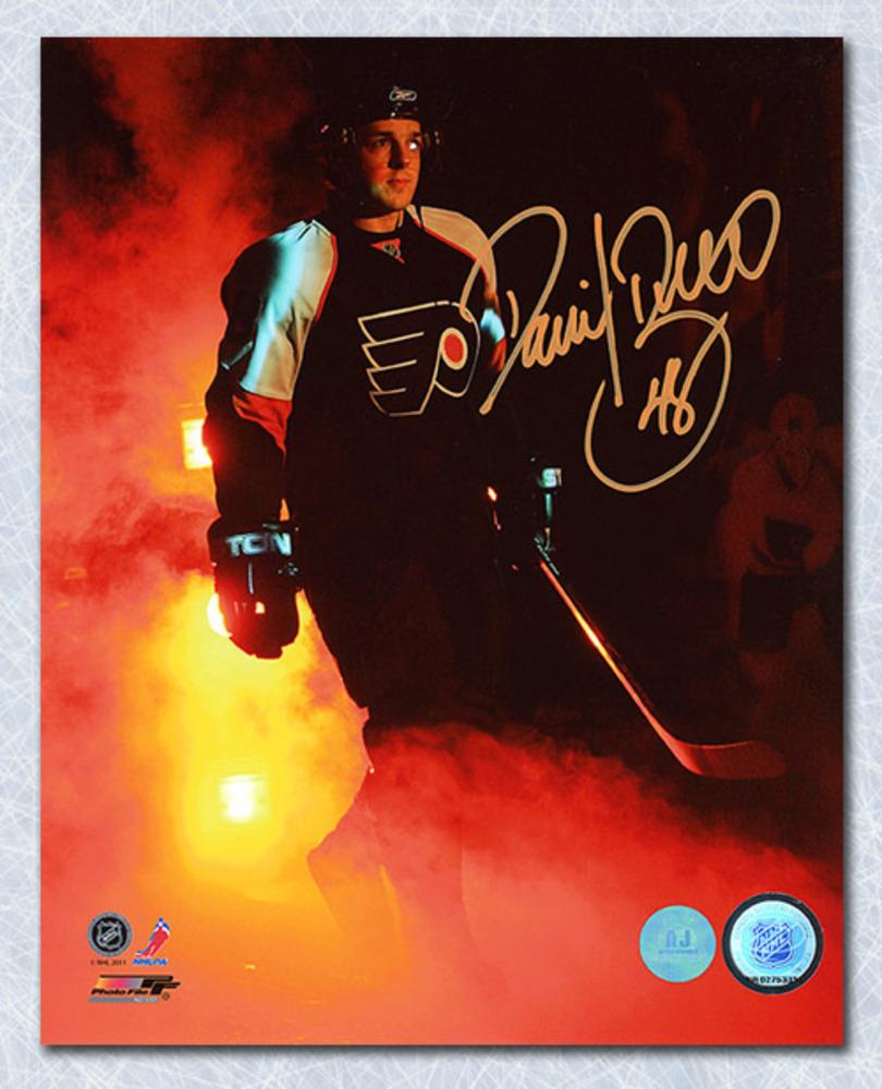 Daniel Briere Philadelphia Flyers Autographed Introduction 8x10 Photo