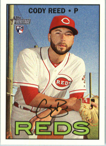 Photo of 2016 Topps Heritage #608 Cody Reed RC