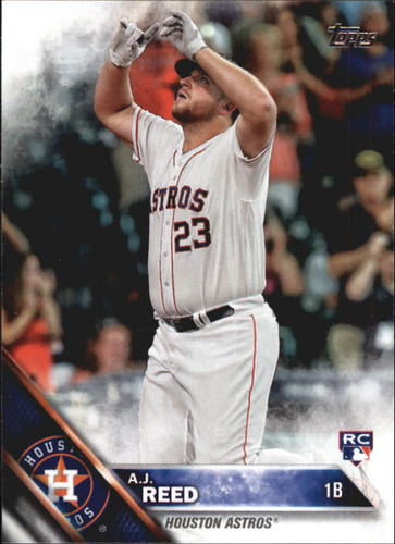 Photo of 2016 Topps Update #US92A A.J. Reed RC